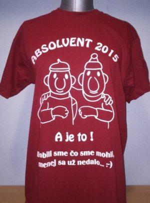 abs 300x405 - Absolventské trička - Absolventské trička