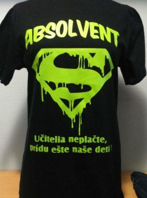 absolventske tricko bpro.sk superman