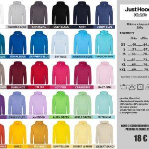 Just Hoods tabuľka 300x300 - Absolventské trička - Absolventské trička