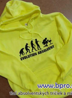 absolventská mikina evolution 300x405 - Absolventské trička - Absolventské trička