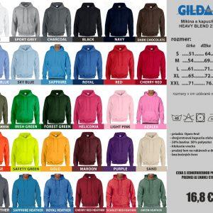 mikiny GILDAN 3 4 300x300 - Absolventské trička - Absolventské trička