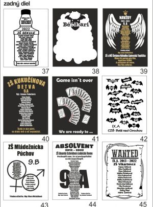 motívy absolventských tričiek13 300x405 - Absolventské trička - Absolventské trička