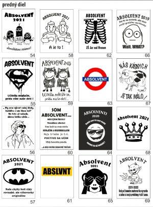 motívy absolventských tričiek5 2 300x405 - Absolventské trička - Absolventské trička