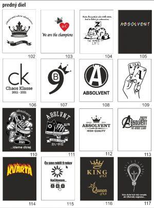 motívy absolventských tričiek8 3 300x405 - Absolventské trička - Absolventské trička