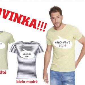 pásikavé tričko 300x300 - Absolventské trička - Absolventské trička