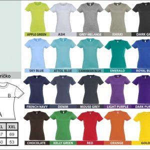 sols dámske tričko 300x300 - Absolventské tričká - Absolventské tričká