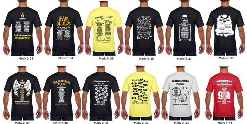 10 797x400 - Absolventské trička - Absolventské trička