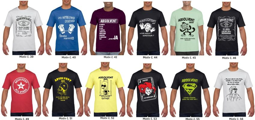 2 848x400 - Absolventské trička - Absolventské trička