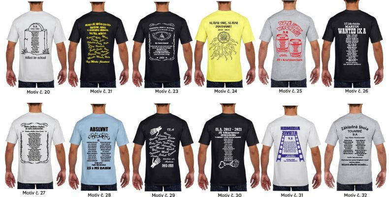 9 790x400 - Absolventské trička - Absolventské trička